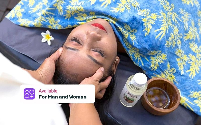 1x Sirodara Treatment 120 Minutes with Amen VCO Oil - Available for Home Spa Service (With Portable Bed)