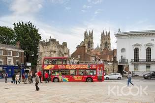 York Hop-On Hop-Off City Sightseeing Bus Tour - Background