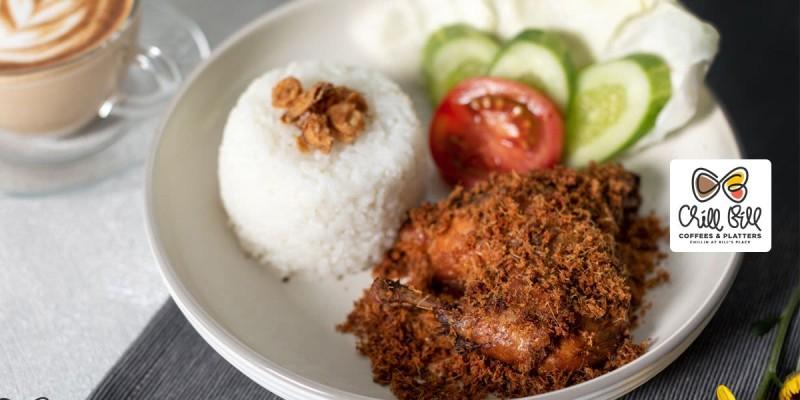 Voucher Chill Bill Coffees & Platters - Ayam Goreng Rempah