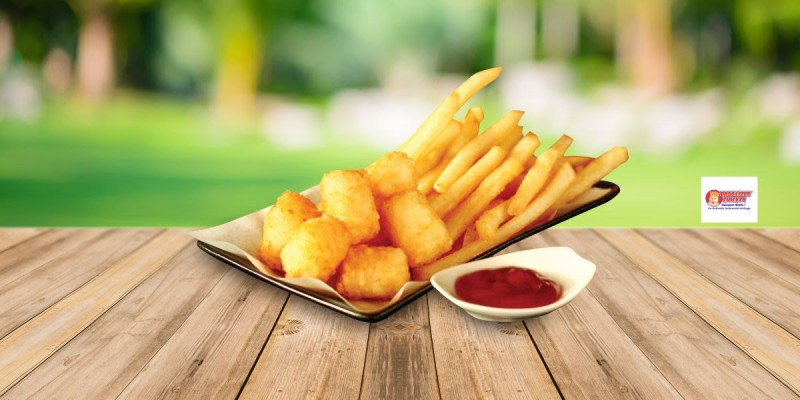 Brooaster Chicken Paket Fun Fries