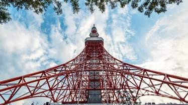 Tokyo Tower Observatory Admission Ticket - Background