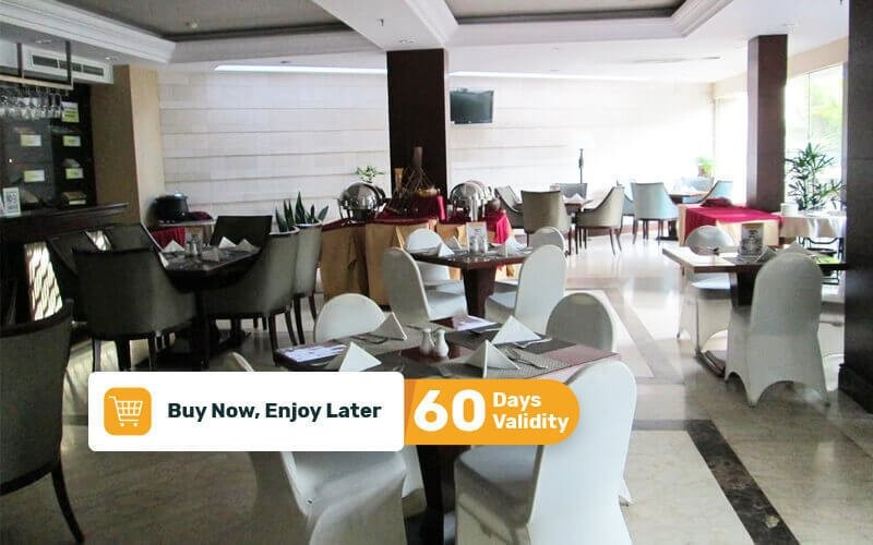 All You Can Eat Breakfast Buffet + Swimming Pool Access for 1 Person (Kids)