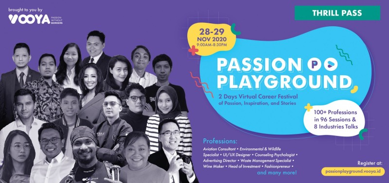 Passion Playground Online Festival Thrill Pass