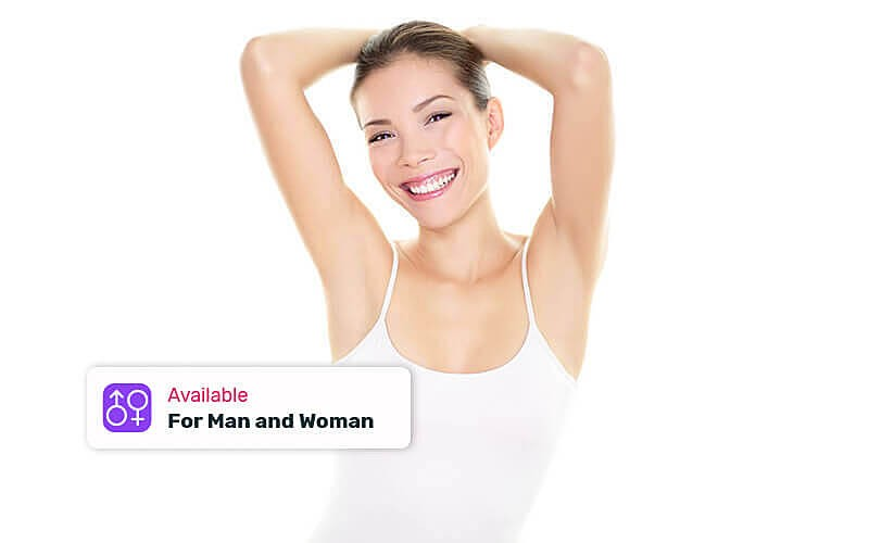 1x Aura Total Underarms Hair Free Treatment (45 Menit): Microdermabration + Hair Free + Mask + Konsultasi Dokter - Available by Appointment & Home service