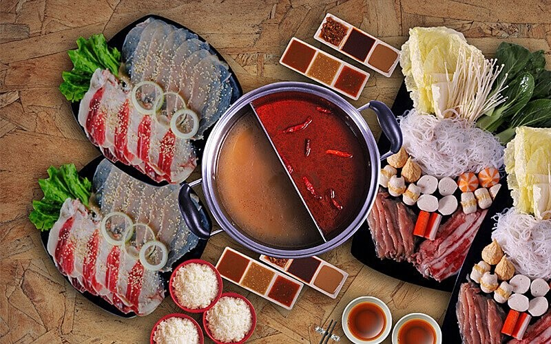 Suki & BBQ Package For 4 Person - Dine In