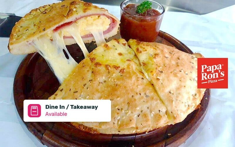 Buy 1 Get 1: Buy 1 Calzone Smoked Beef Get 1 Pepperoni - Dine in & Take Away