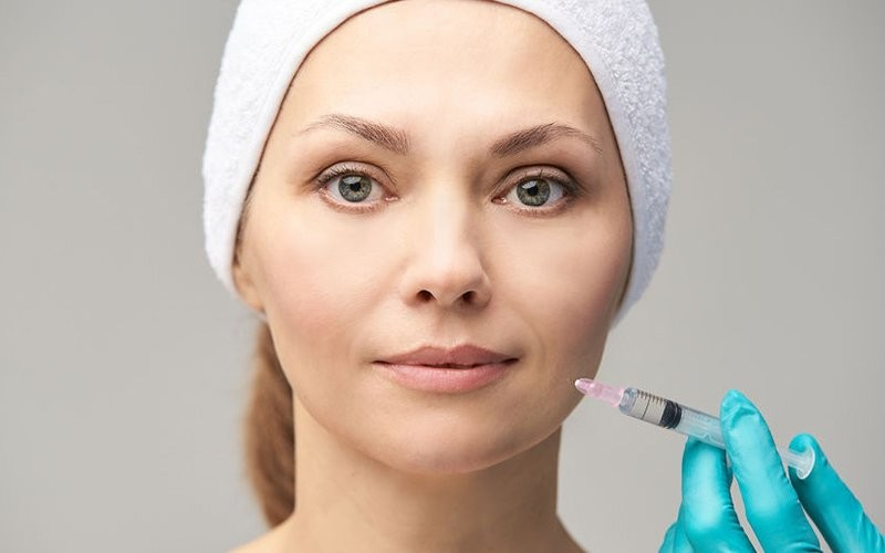 PRP + Growth Factor + Plasma Full Face + 1000Mg Vitamin C Injection