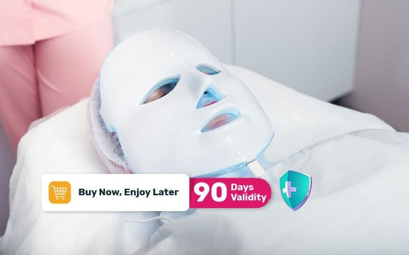 Jetpeel Facial + Anti Acne Treatment + PDT Light Therapy