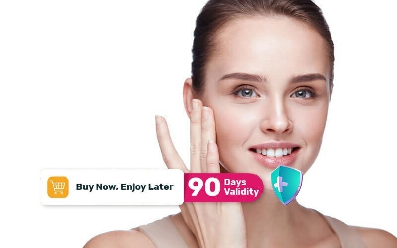Facial White Booster + Comedo Extraction + High Frequency + Jetpeel Facial + PDT Light Therapy