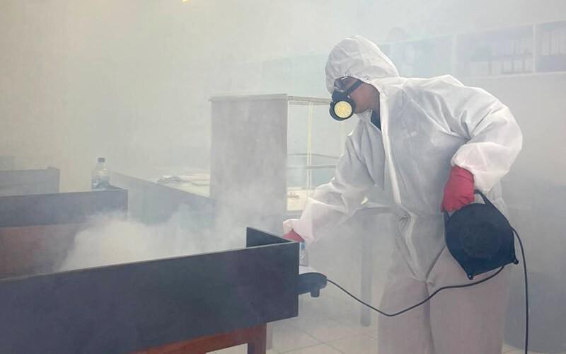 Disinfectant Fogging Untuk Mobil