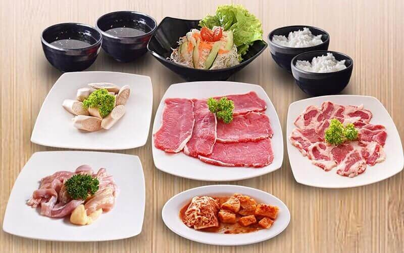 Set Menu All You Can Eat Yakiniku Untuk 1 Orang