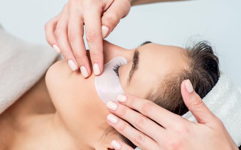 Natural Eyelash Extension + Eyelash Brush