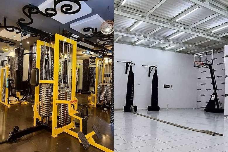 [Klampis Jaya Square C24 C 25] Tampil Bugar Sehat Dengan Paket Gym  Muaythai  Senam hanya bisa di Audid Gym - Muaythai 8x