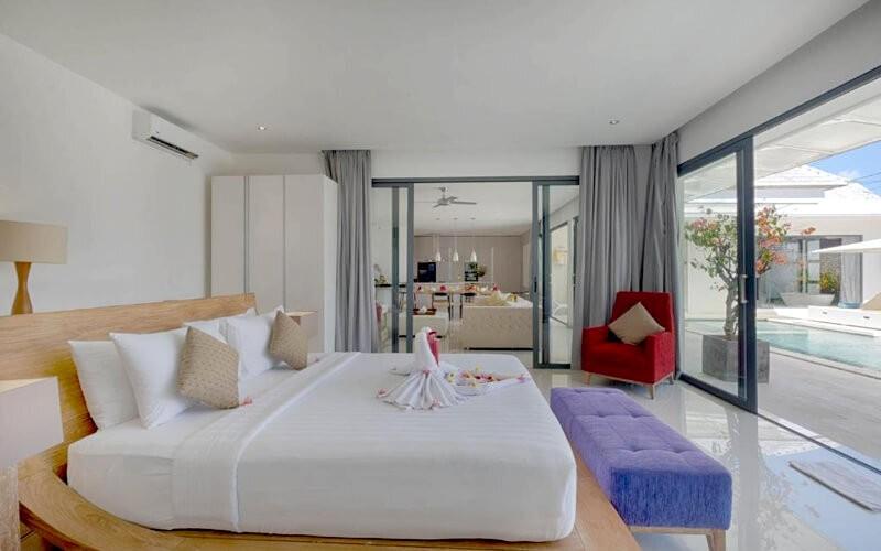 2D1N- Three Bedroom Private Pool Villa Putih 2 + Breakfast 6 Persons