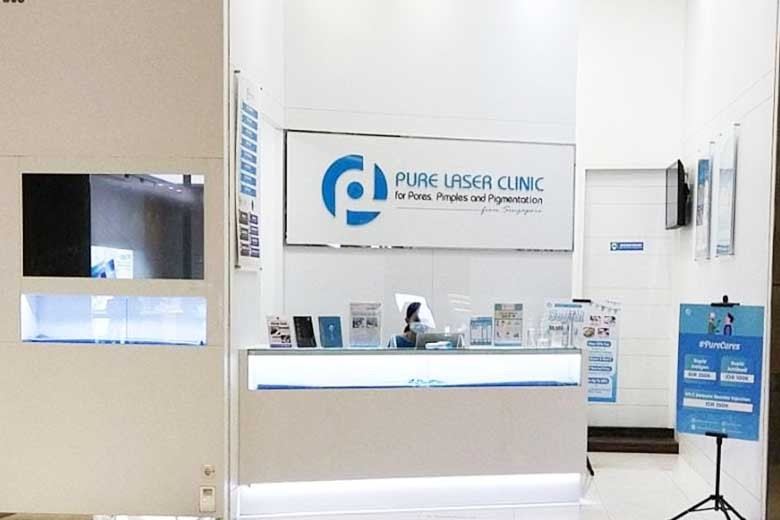 [Galaxy Mall 3 3rd floor unit 3m-308] 50 Off Photo Laser with Chin V Reduction and Comedone Facial Only at Pure Laser Clinic - Galaxy Mall  - Double Chin Reduction dengan Radio Frequency  First time Purchasing