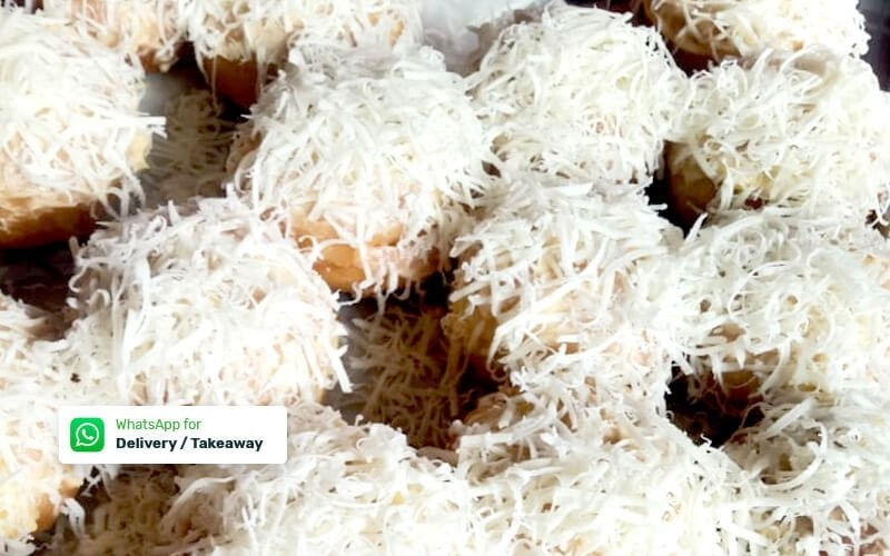 [8.8x17an] Special Package Bombolini Filling Chocolate, Cheese, Blueberry & Strawberry