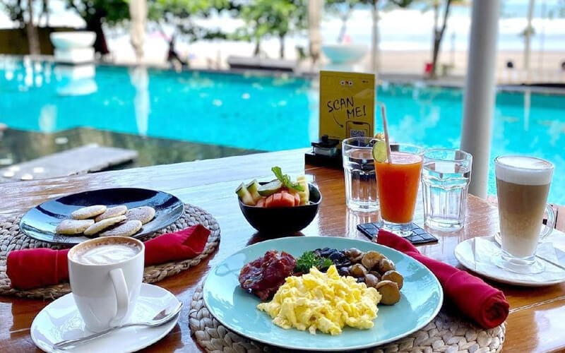 Beachfront Sunday Brunch + Free Flow Soft Drink for 1 Person