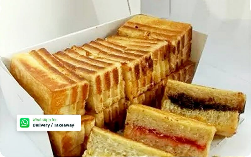 [8.8x17an] Roti Bakar Special Topping (Takeaway/Delivery)