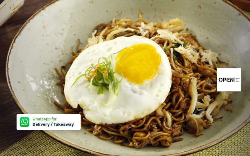 Javanese Style fried Noodle