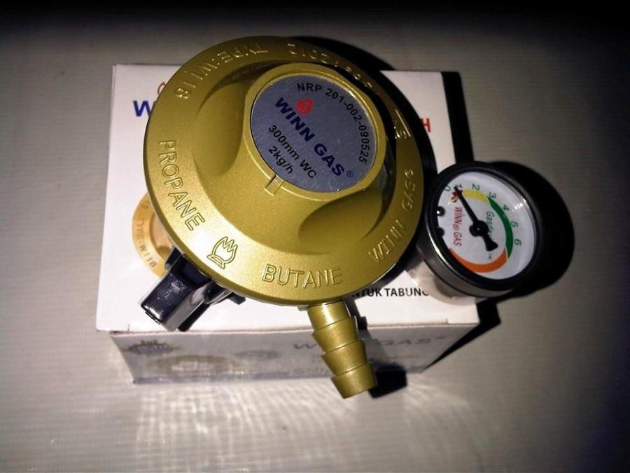Winn Gas 118 Regulator Meter