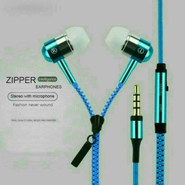 Earphone Zipper