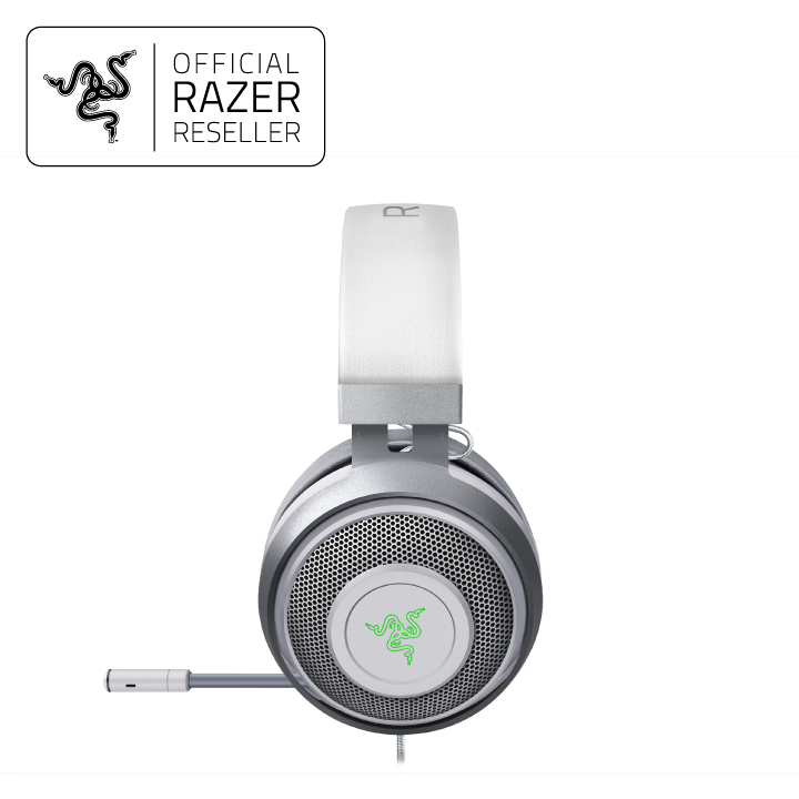Razer Kraken - Multi-Platform Wired Gaming Headset - Mercury Edition