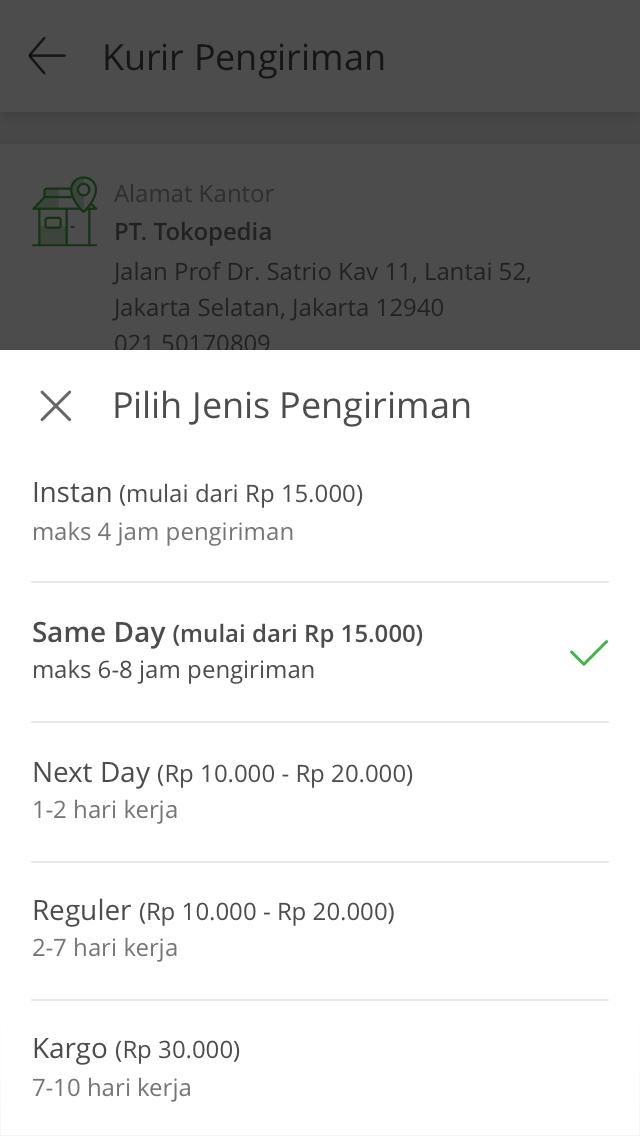 Pilihan opsi pembayaran pembelian terbaik
