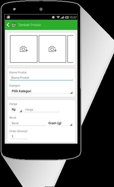Upload Produk Langsung dari Perangkat Anda