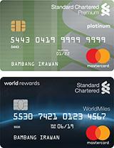 Dual Card (Visa Platinum & Worldmiles)
