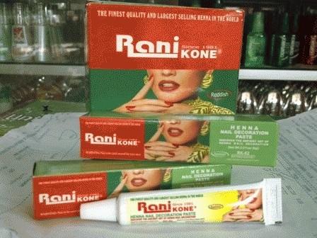 Jual Pacar Kuku Rani Nail Henna Pasar Herbal Tokopedia
