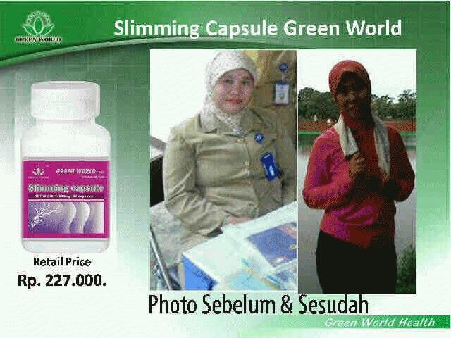 Slimming Capsule Green World Daftar Harga Terlengkap Indonesia