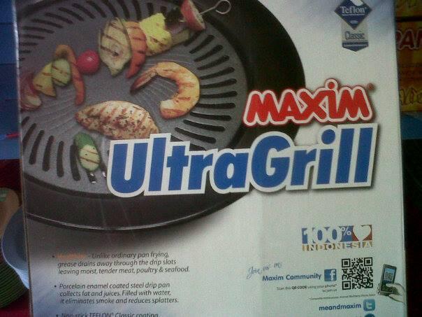 Jual MAXIM ULTRA GRILL