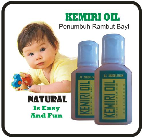 jual minyak kemiri pelebat rambut bayi alami - herbal kita | tokopedia Cara Membuat Minyak Kemiri Bayi