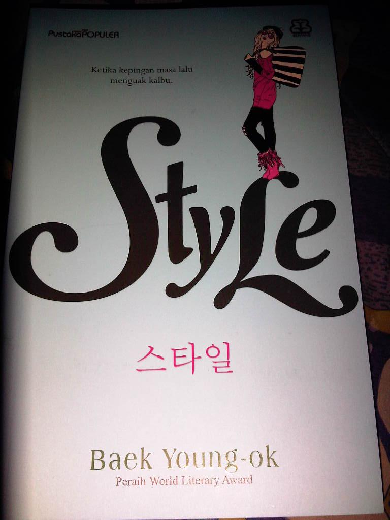 Jual Novel Korea Style Baek Jin Young Pororoya Tokopedia