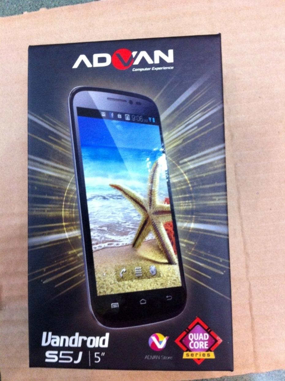 Jual Advan Vandroid S5j Joe Callysta Shop Tokopedia Smartphone Quadcore