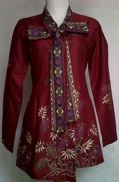 Jual baju batik wanita  ZHAFARA BATIK  Tokopedia