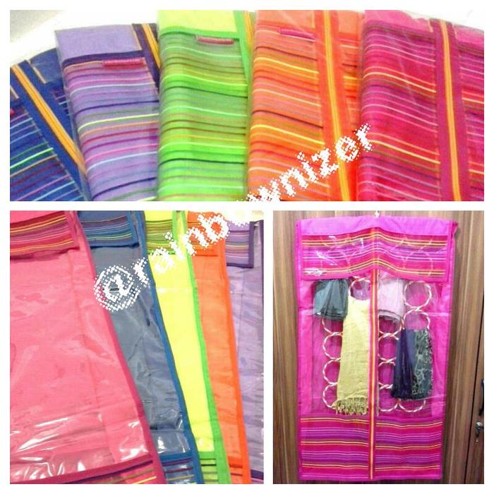 Cover Gantungan Hijab / Jilbab / Kerudung - Cover Ring Hijab / Syal