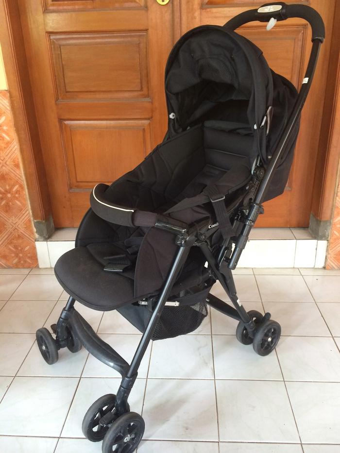 Jual Combi Well Comfort Ultra Light Weight Stroller - EzraShop ...