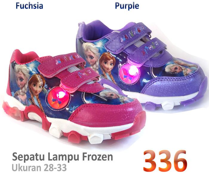 Jual Sepatu Lampu Frozen Anak - Ag Collection | Tokopedia