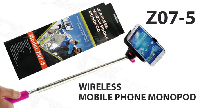 Jual Tongsis Bluetooth Wireless Mobile Phone Monopod