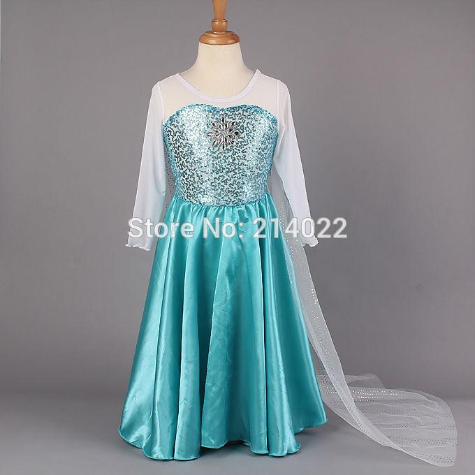 """Baju Pesta Anak Elsa """"Frozen"""" 5-8thn"""