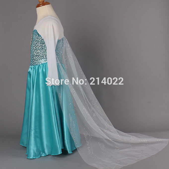 "Jual Baju Pesta Anak Elsa ""Frozen"" 5-8thn - Pipalpo's Shop   Tokopedia"