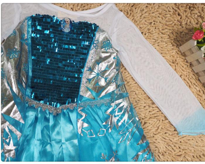 "Jual Baju Pesta Anak Elsa ""frozen"" 5-8thn - Pipalpo's Shop | Tokopedia"
