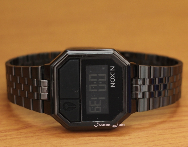 ... Jam Tangan Nixon Re Run Black Kw Super