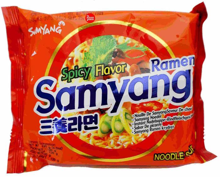 Jual Samyang Spicy Flavour Ramen - Junkie2Snacks   Tokopedia