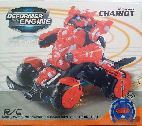 Jual Remote Control Rc Mobil Jadi Robot Deformers 566 102 Rs