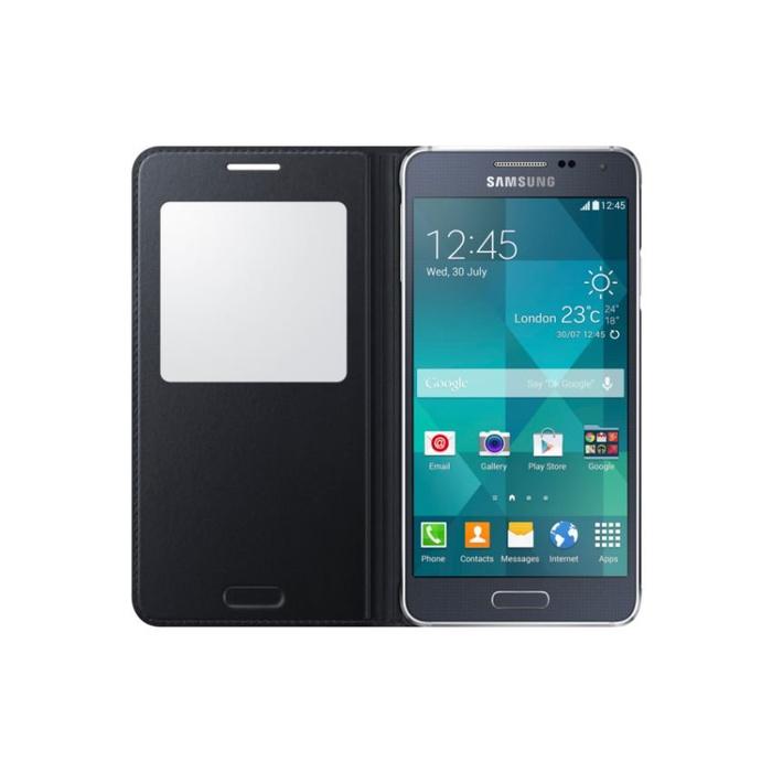 SAMSUNG Galaxy Alpha Case S-View - Black