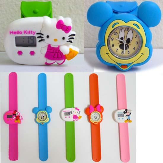 Jual Jam Tangan Anak Strap ( hello kitty   mickey mouse   minnie ... f2bbb89a51