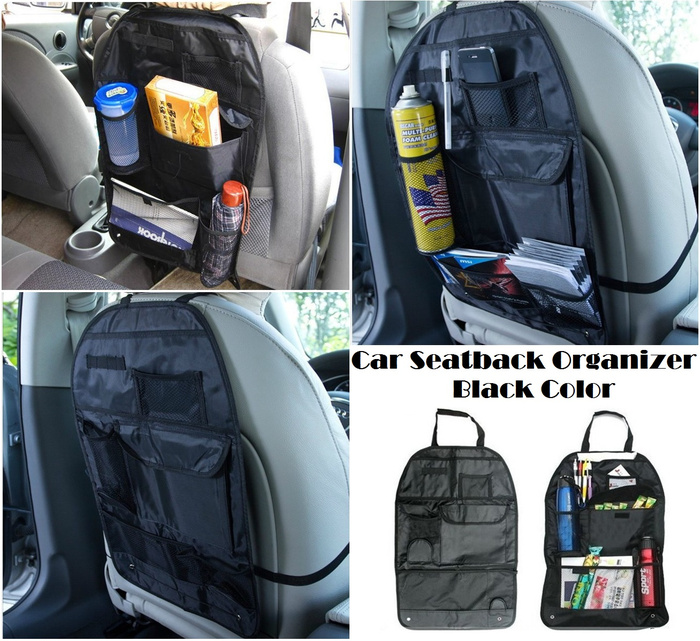 Harga Bamboo Charcoal Car Seatback Bag Organizer