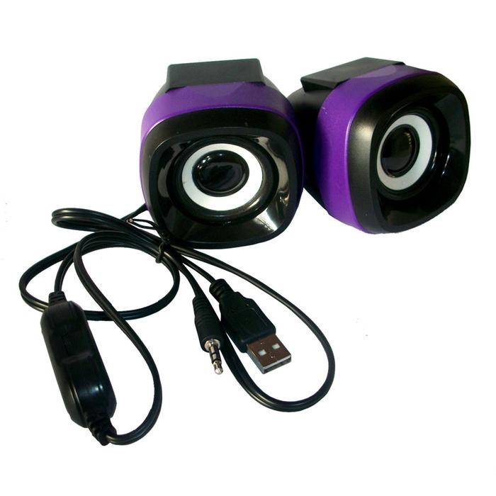 Speaker Advance Mini USB Duo-040 Ungu